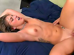 Facial after missionary sex