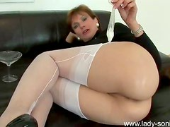 Ass tease and light humiliation
