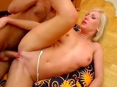 Slim cocksucker becomes anal beauty