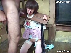 submissive maid bound and punished