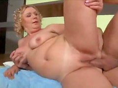 Chubby mature is a fiend for big cock