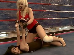 This weeks exciting catfight features Karlie Simon and Liz. Both of them came here to win. Click here and watch how these two hot bitches try to come on top