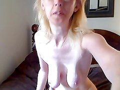 Saggy slender mature