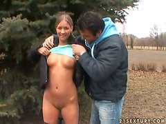 Wet wishes of sexy teen Misty Mild come true