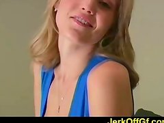 Hot jerkoff instruction from Carli