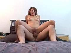 Teen in her first porn scene is hot