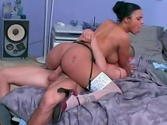 Titjob and sex with a black girl