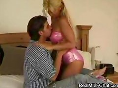 Super hot MILF Jill Kelly takes this cock for a ride