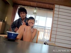 Wonderful Japanese teen loves cum in her mouth