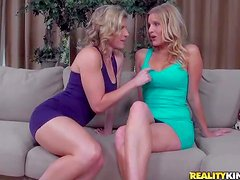 Attractive smoking hot blonde milf Branna Ray with amazing body