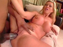 Bimbo milf and the monster black cock