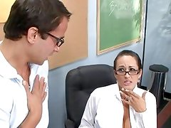 Carmella Bing teaches her student a thing or two
