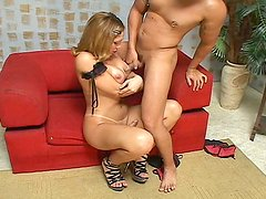 Big brutal guy dreams about getting nailed in the ass by Bianca