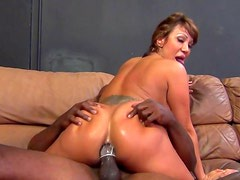 Busty Asian Ava Devine gets dose of anal sex