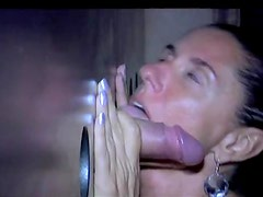 Hot sluts working at the adult club