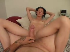 POV sex in the ass with a tempting slut
