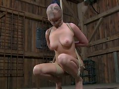 BDSM sex and painful pleasures for sexy Nyssa Nevers