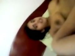 Indian legal age teenager fellatio-service and sperm flow