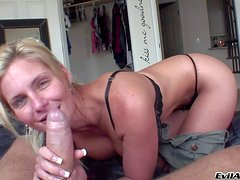 Attractive jaw dropping blonde Phoenix Marie with smoking hot delicious
