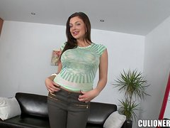 Aletta Ocean doesn't mind to get her snatch fucked deep and hard