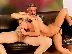 Bianca Arden is about to learn how to give the perfect deep-throat blowjob. How, you