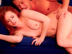 Passionate fuck with romantic babe Denisa Heaven