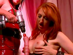 Amazing lesbians have wonderful time together organizing a great party. They take a strap on and
