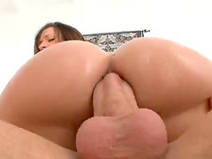 Wondrous wet anal with a big cock
