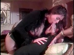 Hot blowjob from Tera Patrick in close up