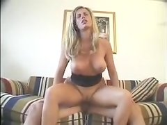 Hidden camera cought blonde hottie fucking
