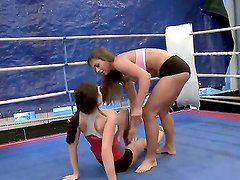 In this cool video your are going to see two fighting lesbian chicks: Nelly Sullivan and