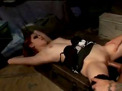 Punk chick with mohawk fucked