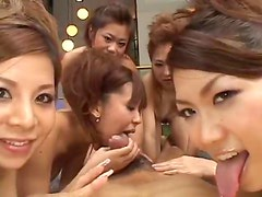 Tons of Japanese girls ride your dick