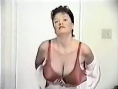 Wife with giant bumpers in homemade sex tape