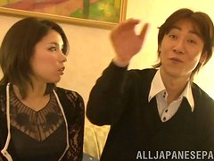 Horny Marika Tsutsui gets pounded in different poses