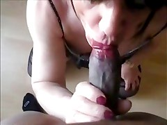 Lara Tranny gets fucked by young BBC friend