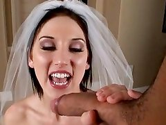 Busty babe Mindy Main takes a big blackzilla on her mouth