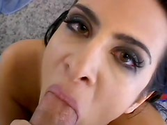 Ava Ramon is sucking that horny shaft like never before