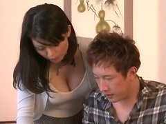 Miki Sato gets her tits massaged and pussy fucked
