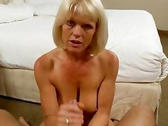 Wanna see a MILF get milked with cum?