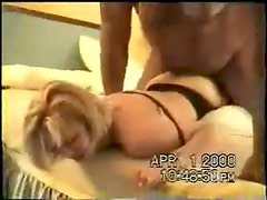 Hubby licks cum from his wife