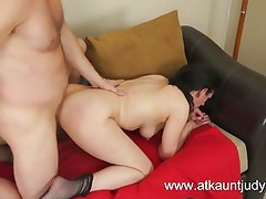 Holiday Hughes gets fucked in her MILF box