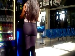 Bus Station Latina Culo Ass Booty