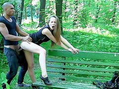 Hawt stripper acquires screwed in the park