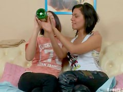 Little lezzies strapon teen anal
