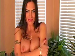 Hot chick gives you jerk off instructions