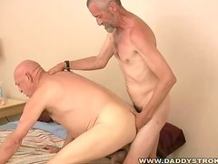 2 Mature Daddies And Their Toys