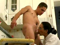 Auntie anal hardcore sex is sizzling hot