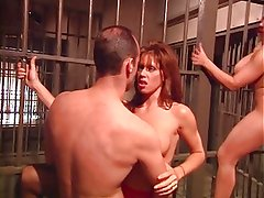 British MILF Nici Stirling gets fucked in a FFMM foursome