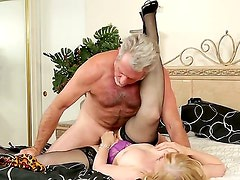 Beautiful Nina Hartley is having her sexual intercourse with her husband filmed on camera,